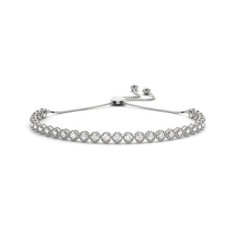 Daytime Diamond Titan Bracelet, in White Gold