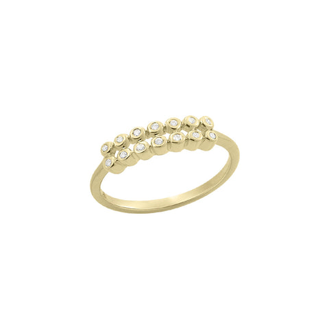 Daytime Diamond Linea Band, in Yellow Gold