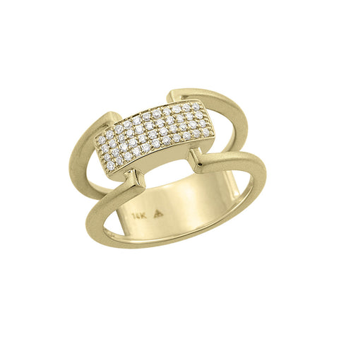 Daytime Diamond Ikan Ring, in Diamond and Gold