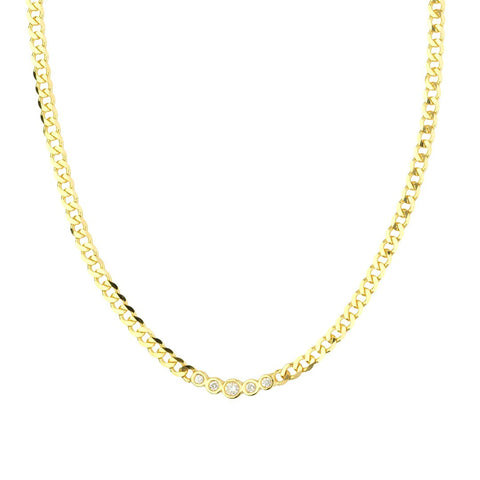 Leah Diamond Necklace