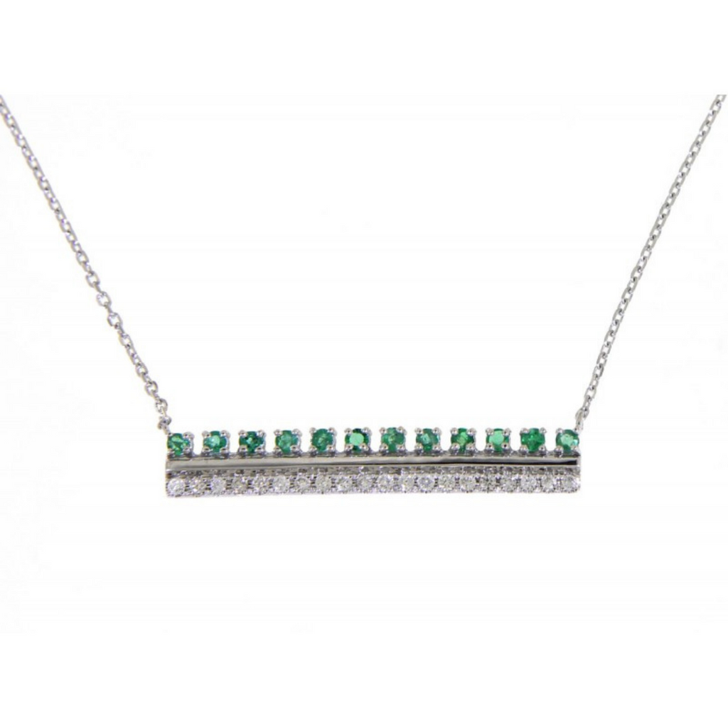 Ada Emerald Necklace