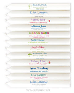 Personalised Taper Candles