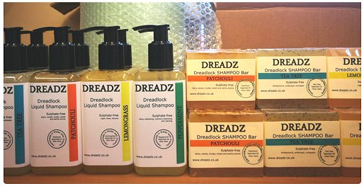 Our all new Liquid Dreadlock Shampoos... an easier way to wash your dreads!