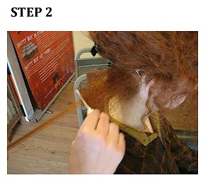 How to make and grow dreadlocks... step 2.