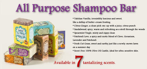 Knotty Boy All Purpose Shampoo Soap Bars