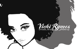 Vichi Rymes; Bristol Hairdresser & Loctician for Dreadlocks, Braids, Weave-On, Cornrows, Extensions and Make-Up