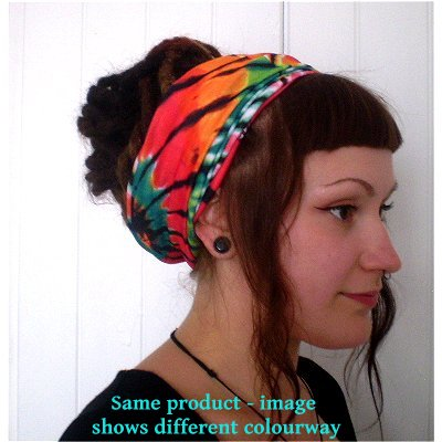12 in 1 Multi-Function Tubular Headband / Headwear (Tie Dye)