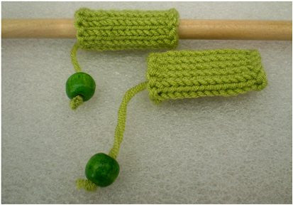 Dreadz Hand-Made Knitted Lock Sleeve x 1 (#204) Lime