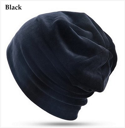 Dreadz Velvet Beanie Hat (Black)