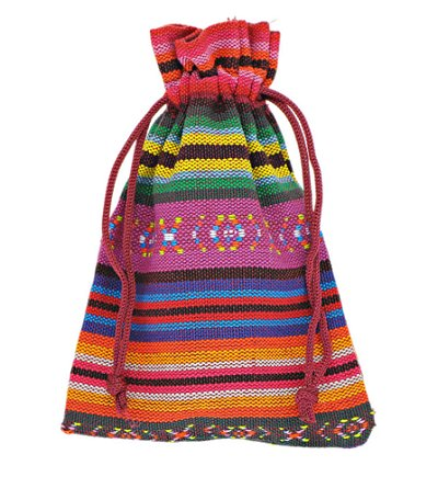 Dreadz Drawstring Bead Bag (Ethnic Style 6)