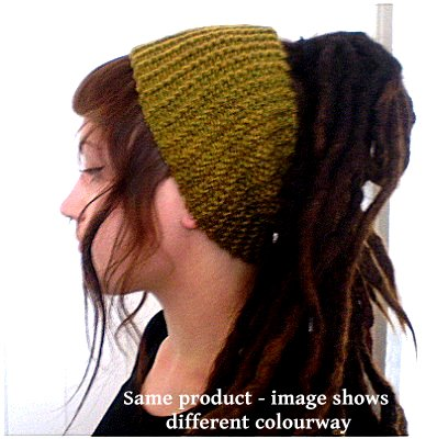 Dreadz Chunky Knitted Headband / Tube