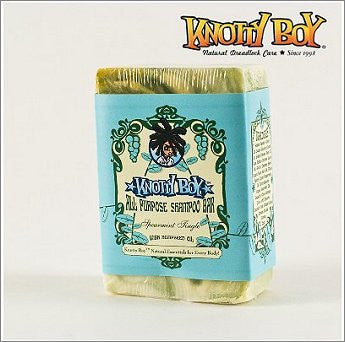 Knotty Boy All Purpose Shampoo Bar Spearmint Tingle 4oz.