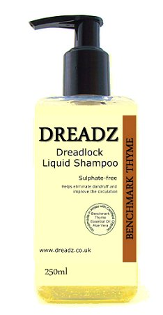 Dreadz Benchmark Thyme Dreadlock Liquid Shampoo 250ml