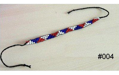 Colourful Multi-Coloured Glass Beaded Handmade Wish/Friendship Bracelet (#004)