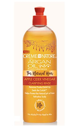 Crème of Nature Argan Oil Apple Cider Vinegar Clarifying Rinse (460ml)