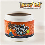 Knotty Boy Dreadlock Wax Medium 4oz. Medium Brown to Dark & Black Hair