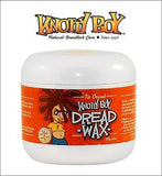 Knotty Boy Dreadlock Wax Large 8oz. Medium Brown to Dark & Black Hair