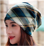 Dreadz 3-in-1 Multi-Function Tubular Beanie/Headwrap/Neckwarmer (Burberry Style)