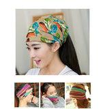 Dreadz 3-in-1 Multi-Function Tubular Beanie/Headwrap/Neckwarmer (Floral)