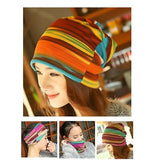 Dreadz 3-in-1 Multi-Function Tubular Beanie/Headwrap/Neckwarmer (Multi Stripes)