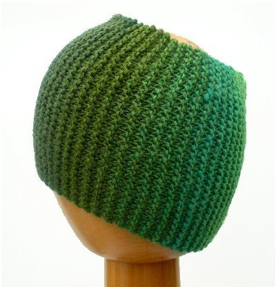 Dreadz Chunky Knitted Headband / Tube (Forest)