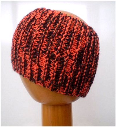 Dreadz Chunky Knitted Headband / Tube (Jaffa)