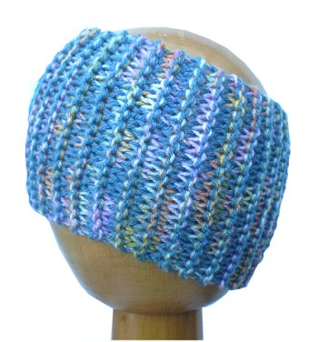 Dreadz Chunky Knitted Head Band / Tube (Seashell)