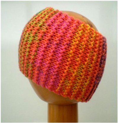 Dreadz Chunky Knitted Headband / Tube (Sunburst)