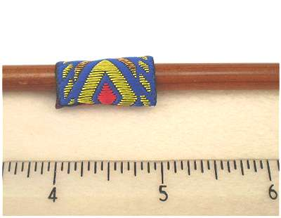 "Dreadz Dreadlock Fabric Hair Cuff (1"" Long x 1/2"" Wide) #356"
