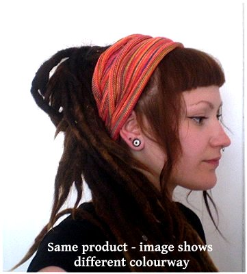 Dreadz Fair Trade Multi Colour Tribal Headwrap/Headband