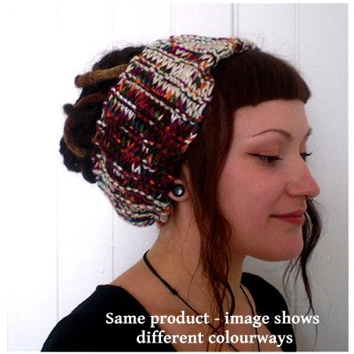 Dreadz Chunky Knitted Head Band / Tube