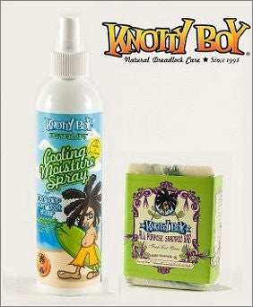 Knotty Boy Fresh Cut Grass Bar & Peppermint Cooling Spray Combo
