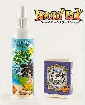 Knotty Boy Unscented Olive Oil Bar & Peppermint Cooling Combo