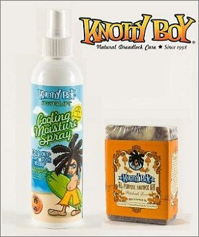 Knotty Boy Patchouli Bar & Peppermint Cooling Spray Combo
