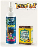 Knotty Boy Cedar Spruce Deodorizer Spray & Tahitian Vanilla Shampoo Bar DUO