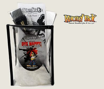 Knotty Boy Dye Nappy KIT, Dreadlock Dying Instructions