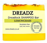 Dreadz Dreadlock Shampoo Bar Soap Lemongrass for Body and Hair