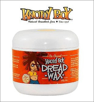 Knotty Boy Dreadlock Wax Large 8oz. Light Blonde to Medium Brown & Red Hair