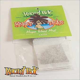 Knotty Boy Knot-Tea Scalp Tonic Mayne Island Mint 4-pack