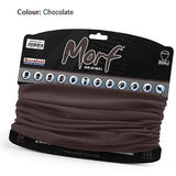12 in 1 Multi-Function Tubular Headband / Headwear Chocolate Brown