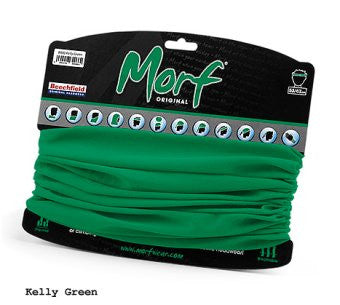 12 in 1 Multi-Function Tubular Headband / Headwear Kelly Green