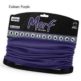 12 in 1 Multi-Function Tubular Headband / Headwear Purple