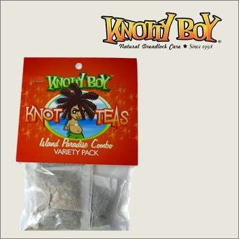 Knotty Boy Knot-Tea Scalp Tonic Island Paradise Combo Pack