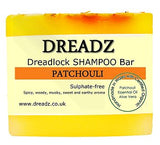 Dreadz Dreadlock Shampoo Bar Soap Patchouli for Body and Hair