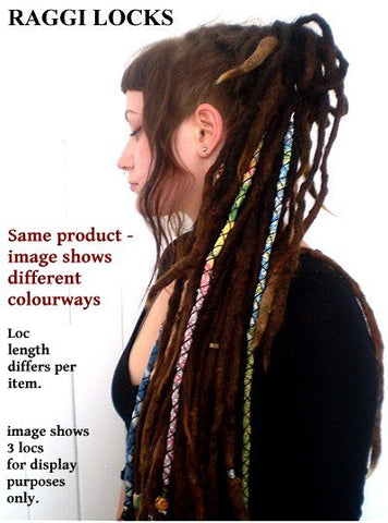 Dreadz Handmade Cotton Raggi Locks x 1