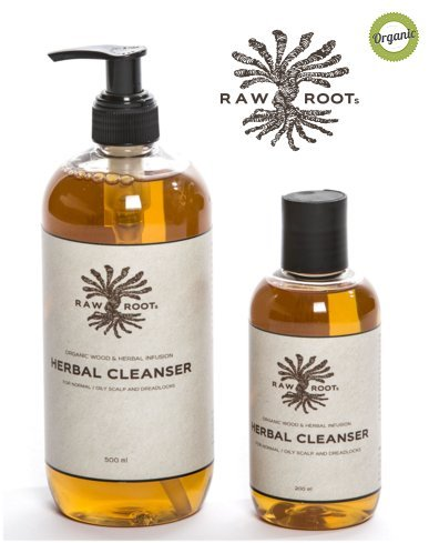 RAW ROOTs Herbal Cleanser Dreadlock Shampoo 500ml