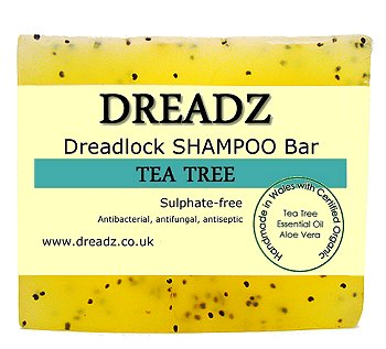 Dreadz Dreadlock Shampoo Bar Soap Tea Tree for Body and Hair