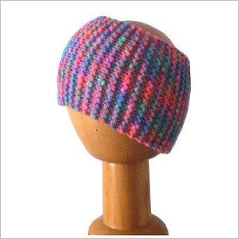 Dreadz Chunky Knitted Head Band / Tube Tutti Frutti