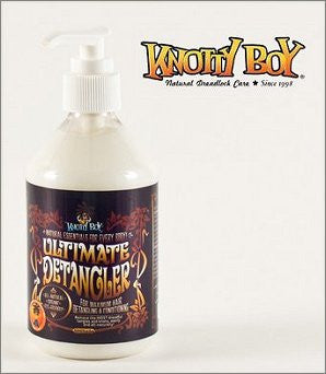 Knotty Boy Every Body Ultimate Hair Detangler Small 250ml All-Natural, Organic, Eco-Friendly