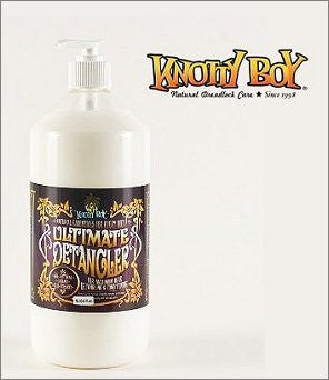 Knotty Boy Every Body Ultimate Hair Detangler Large 1000ml (1 Litre) All-Natural, Organic, Eco-Friendly